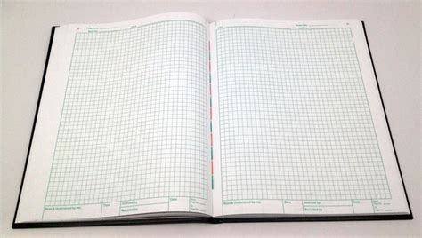 laboratory notebook engineering notebook and inventors journal 8 5x11 250 pages dot grid graph paper books nlhc160b oversized laboratory notebook