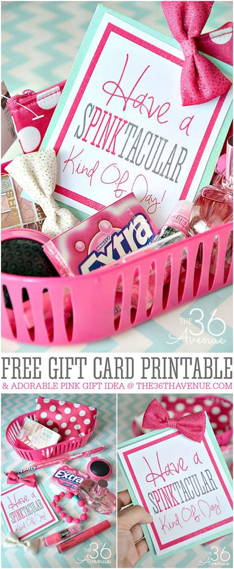 free gift ideas gift idea and free gift card printable the 36th avenue