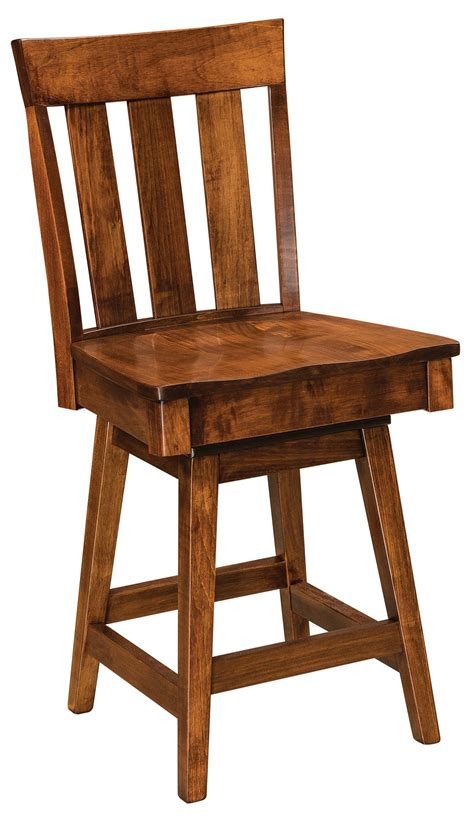 mission bar stools swivel glenmont mission swivel bar stool from dutchcrafters amish