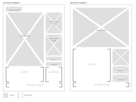 How To Make An Html Email Template Html Wireframe Template