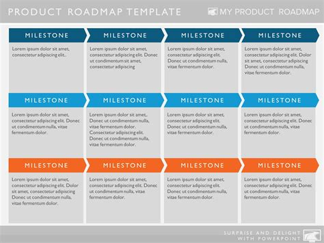 process road map templates six phase software strategy timeline roadmap presentation