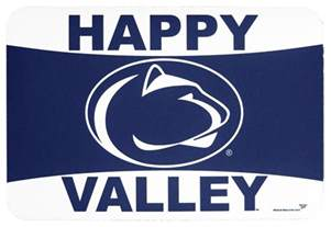 penn state happy valley welcome mat souvenirs gt home gt empty