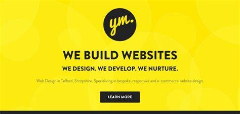 web design inspiration yellow yellow marshmallow website has a great web design best