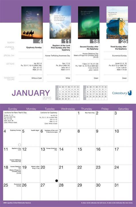 ISSUU   Word Alive Bulletin Calendar by United Methodist