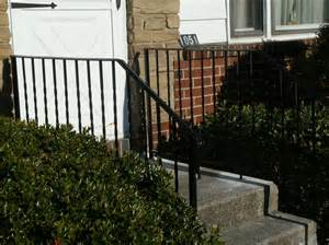 Wrought Iron Handrails For Exterior Stairs Wrought Iron Railing Designs Wrought Iron Stair Railing