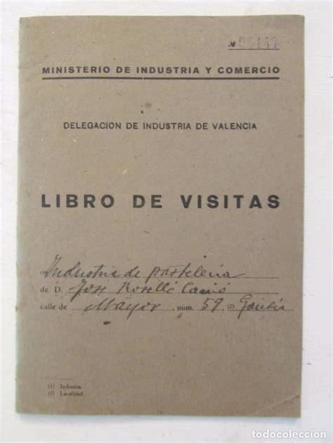 libro visitor the how and libro de visitas delegaci 243 n de industria de va comprar en todocoleccion 69973581