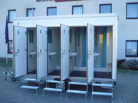 Mobile Showers by Type 4 X Shower 1330 42 Mobile Showers Eurowagon