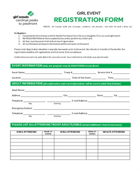 course enrolment form template course enrolment form template free template design