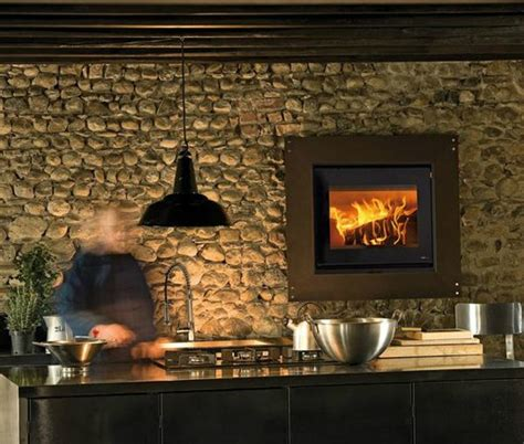 kitchen fireplace design ideas kitchens with oven fireplace decoholic