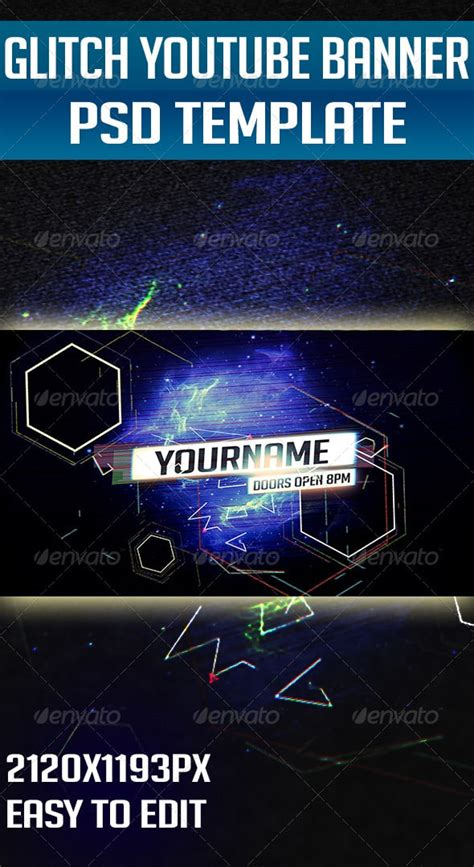 youtube layout glitch awesome youtube banners and backgrounds 56pixels com