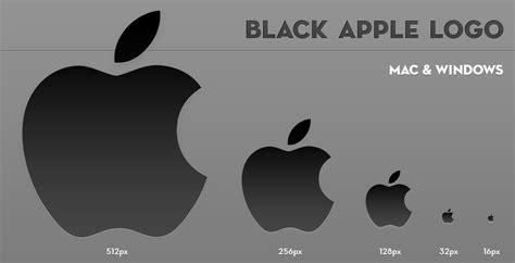 apple logo text black apple logo by larzon83 on deviantart