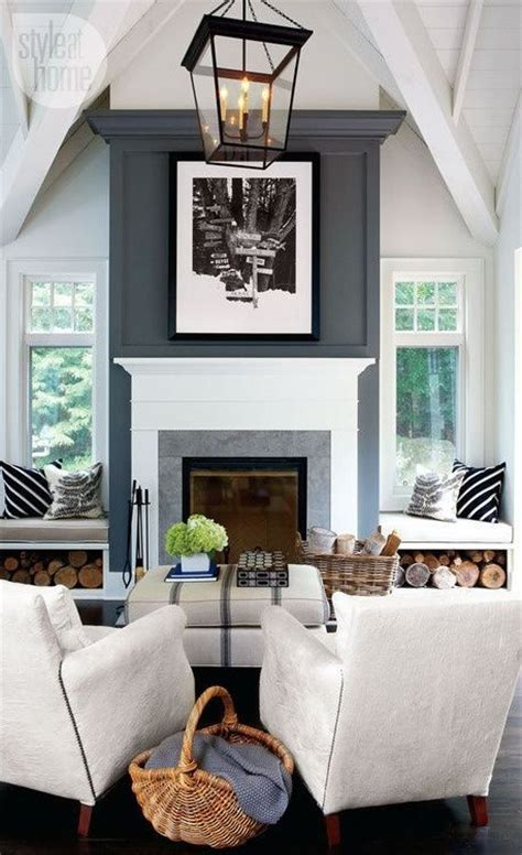 Lettered Cottage Fireplace by 20 Warm Fireplaces Messagenote