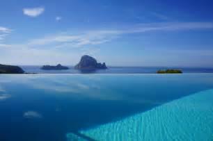 Ibiza Infinity Pool Infinity Pool Con Vistas A Es Vedr 225 Habitas Ibiza Rentals