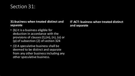 section 92 of income tax act comparison of dtc with income tax act for business income