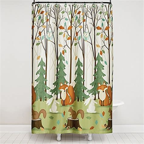 fall shower curtain set saturday knight 13 piece fall friends shower curtain and