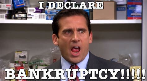 michael bankruptcy meme the office