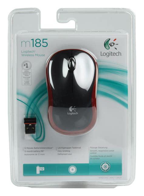 Mouse Optik Usb Logitech B100 Ori mouse optic m185 wireless logitech