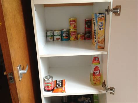 Grocery Cupboard Bare Food Cupboards Poverty And Social Exclusion