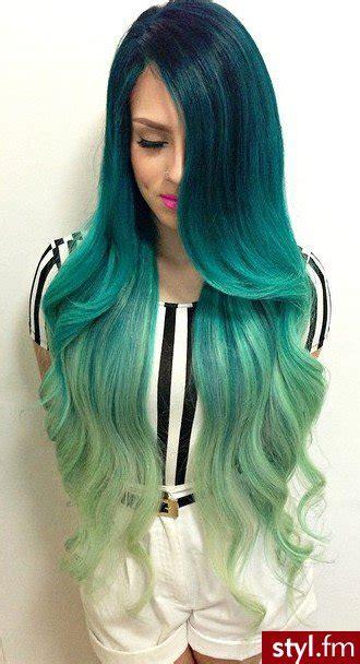 dark green hair turquoise without bleach diy hair 10 ways to dye mermaid hair bellatory