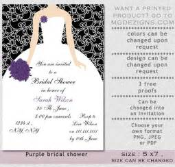 brides invitations template best template collection