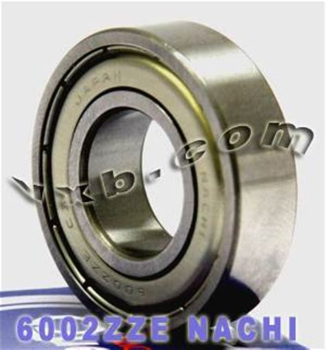 Bearing 6002 Nse C3 Nachi 6002zze nachi c3 15x32x9 15mm 32mm 9mm 6002z japan radial bearings ebay