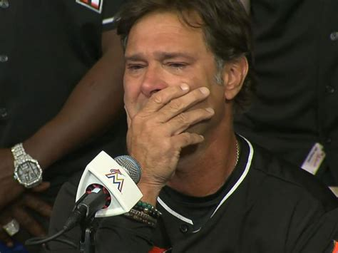 Don Mattingly Press Conference by Marlins At Tearful Press Event Speak Of Jose Fernandez