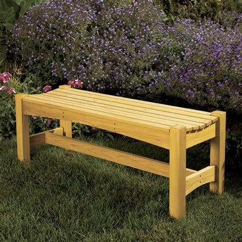 making a garden bench woodworking project paper plan to build garden bench