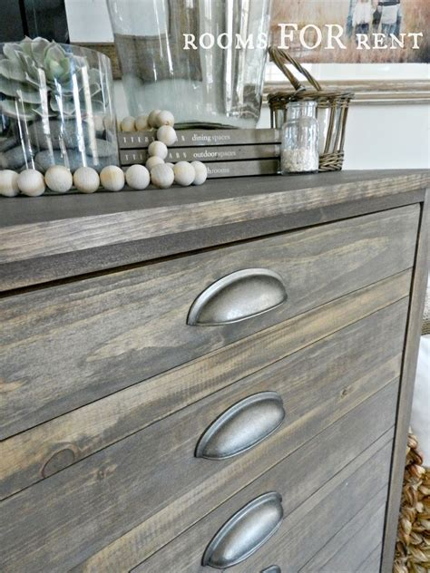 grey stained wood dresser beautiful weathered finish using minwax quot special walnut