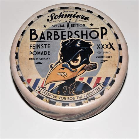 Pomade Ekstra Hold pomade schmiere edition barbershop strong hold