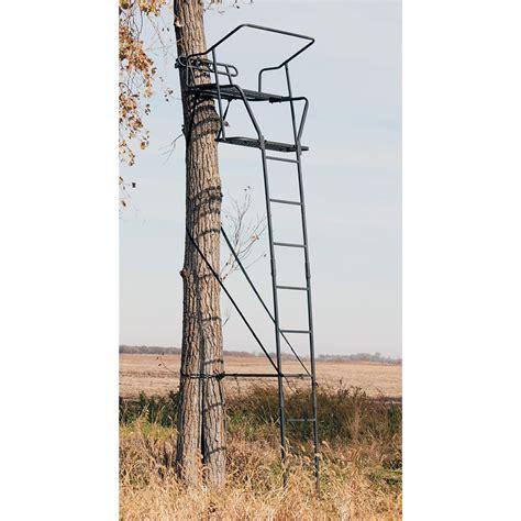 big treestands big treestands 174 side kick ladder stand 108457 ladder tree stands at