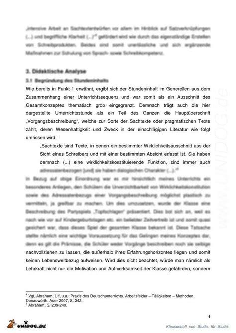Vorgangsbeschreibung Praktikum Vorlage Vorgangsbeschreibung Rezept