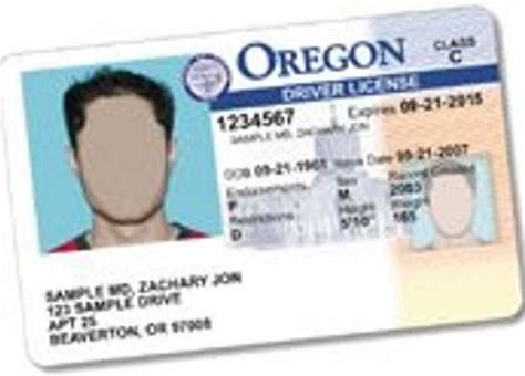 Oregon Id Card Template by Third Gender Option Officially Added To Oregon Licenses