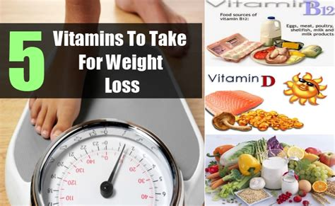 weight loss vitamins 5 vitamins to take for weight loss best vitamins to lose