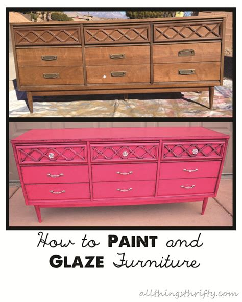 painting furniture is easy and can save you lots and
