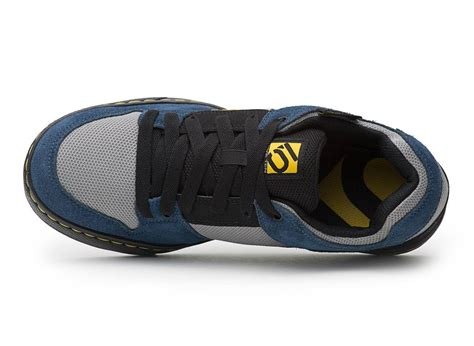 cycling shoes for flat five ten freerider flat mtb cycling shoes navy grey ebay