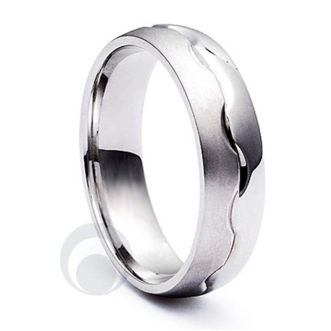 combination platinum wedding ring from the platinum ring