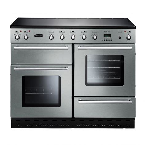 induction cooker rangemaster rangemaster toledo 110cm all electric range cooker with induction hob