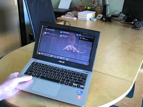 Notebook Acer X201e a look at the asus x201e
