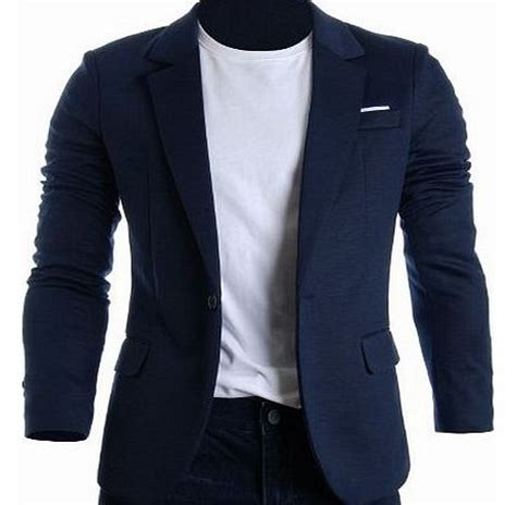 Bj 7860 Lined Slim Dress Black blazer mens suits