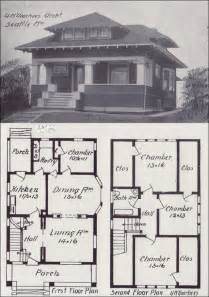 Vintage House Blueprints by Early 1900s Free Old House Blueprint Plan How To Build Plans