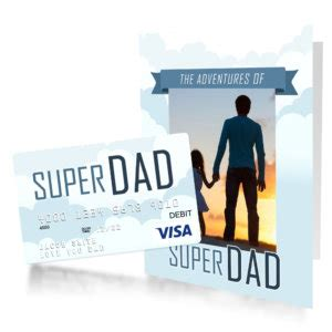Sending Gift Cards In The Mail - free printable father s day gift card for super dad gcg