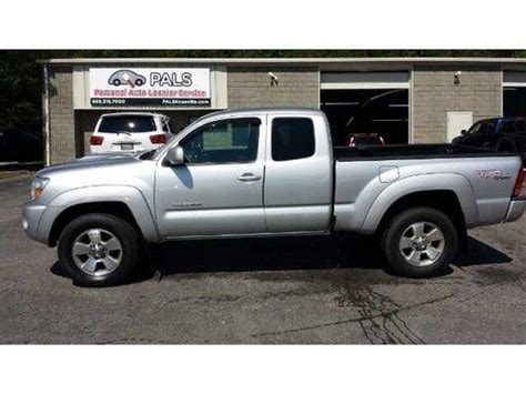 Toyota 4 Door Sports Car Purchase Used 2008 Toyota Tacoma V6 Trd Sport Automatic 4