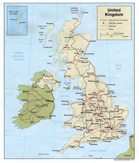 printable road map of united kingdom map of uk cities pdf