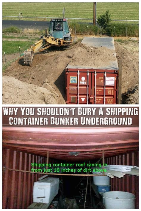Free Home Plans With Cost To Build by Why You Shouldn T Bury A Shipping Container Bunker