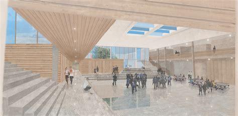 Foyer Architecture Riai Post Primary School Architectural Design Competition