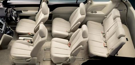 mpv car interior mazda unveils freshened mpv in japan japanesesportcars com