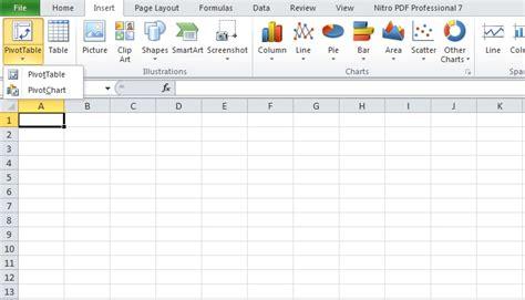 cara membuat jurnal dalam excel pengertian dan cara membuat pivottable di excel