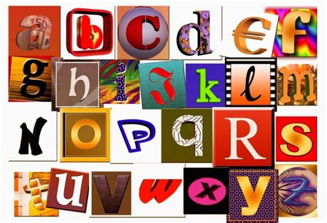 create an alphabet collage in 5 easy steps 187 early