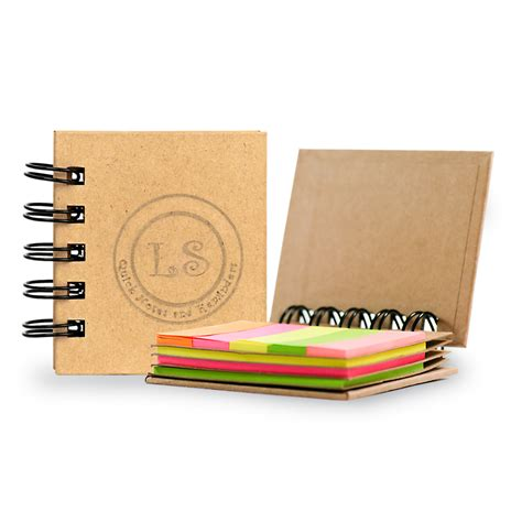 personalized picture books personalized spiral book with sticky notes and flags