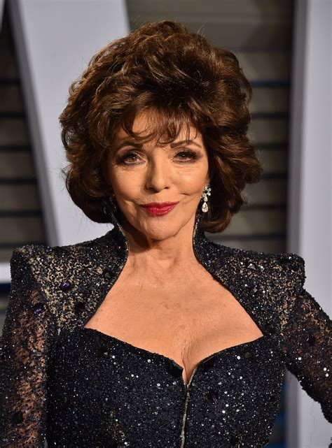 joan collins � 2018 vanity fair oscar party in beverly hills